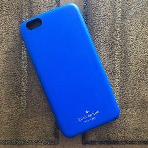 Kate Spade iPhone 6 Case in Emperor Blue